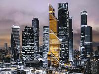 Картина Orlix Золотой город / CA-12200 (с эффектом нанесения серебра) -