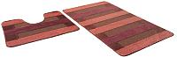 Набор ковриков Shahintex РР Mix Lux 60x100/60x50 (кирпичный) -