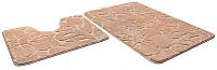 Набор ковриков Shahintex Эко 45x71/45x43 (бисквитный) -