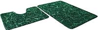 Набор ковриков Shahintex Эко 45x71/45x43 (изумрудный) -