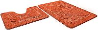 Набор ковриков Shahintex Эко 45x71/45x43 (кирпичный) -