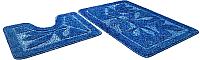 Набор ковриков Shahintex Эко 45x71/45x43 (синий) -