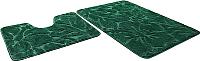 Набор ковриков Shahintex Эко 60x90/60x50 (изумрудный) -