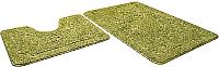 Набор ковриков Shahintex Эко 60x90/60x50 (салатовый) -