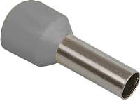 Гильза для кабеля IEK UGN10-004-04-09 (100шт, серый) -