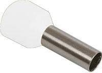 Гильза для кабеля IEK UGN10-C75-02-08 (100шт, белый) -