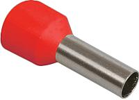 Гильза для кабеля IEK UGN10-D15-03-08 (100шт, красный) -