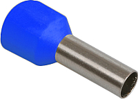 Гильза для кабеля IEK UGN10-D25-04-08 (100шт, синий) -