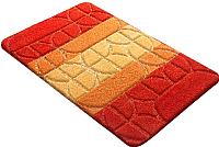 Коврик для ванной Shahintex РР Mix 4K 60x100 (оранжевый) -