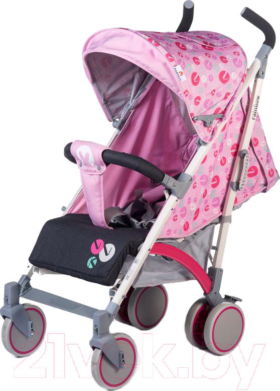 Купить Детская прогулочная коляска Babyhit, Rainbow LT (розовый/серый), Китай