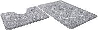 Набор ковриков Shahintex Эко 60x90/60x50 (серый) -