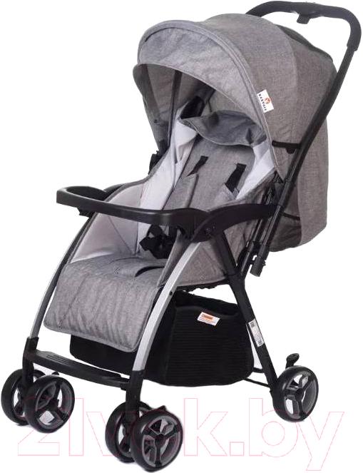 Купить Детская прогулочная коляска Babyhit, Floret (grey linen), Китай