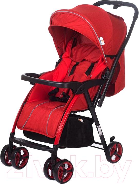 Купить Детская прогулочная коляска Babyhit, Floret (red linen), Китай