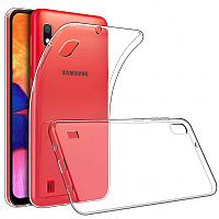 Чехол-накладка Case Better One для Galaxy A10 (прозрачный глянец) -