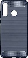 Чехол-накладка Case Brushed Line для P30 Lite (синий, матовый) -
