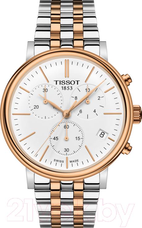 Купить Часы наручные мужские Tissot, T122.417.22.011.00, Швейцария