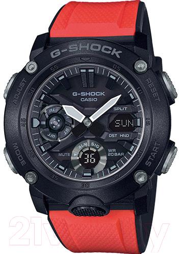 Купить Часы наручные мужские Casio, GA-2000E-4ER, Китай