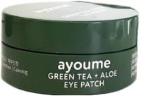 Патчи под глаза Ayoume Green Tea+Aloe Eye Patch (60шт) -