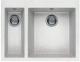 Мойка кухонная Elleci Quadra 150 Bianco Pietra G52 / LGQ15052 -