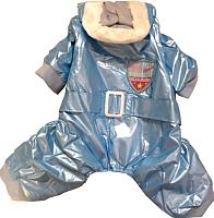 Комбинезон для животных Allfordogs Спортивный (L, голубой) -