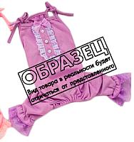 Комбинезон для животных Allfordogs Принцесса / 00862 (XXL, розовый) -