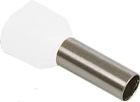 Гильза для кабеля IEK UTE10-4-D2-1-100 (20шт, белый) -