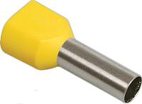 Гильза для кабеля IEK UTE10-4-D2-3-100 (20шт, желтый) -