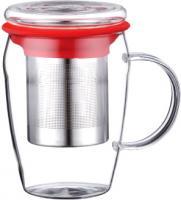 Чашка-заварник Peterhof PH-10039 (красный) -
