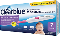 Тест на овуляцию Clearblue Digital (7шт) -