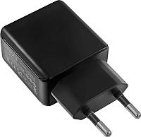 Зарядное устройство сетевое Ginzzu GA-3314UB (черный) -
