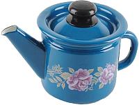 Заварочный чайник СтальЭмаль С2707.34 (васильковый) -