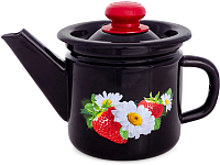 Заварочный чайник СтальЭмаль С2707.36 (черный) -
