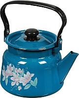Чайник СтальЭмаль С2714.34 (васильковый) -