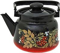 Чайник СтальЭмаль С2714.38 (красный/черный) -