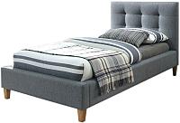 Односпальная кровать Signal Texas 90x200 (серый/дуб) -
