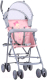 Детская прогулочная коляска Lorelli Light Grey Pink Ballet / 10020471933 -