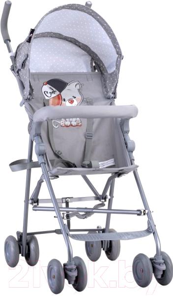 Купить Детская прогулочная коляска Lorelli, Light Grey Cool Cat / 10020471935, Китай