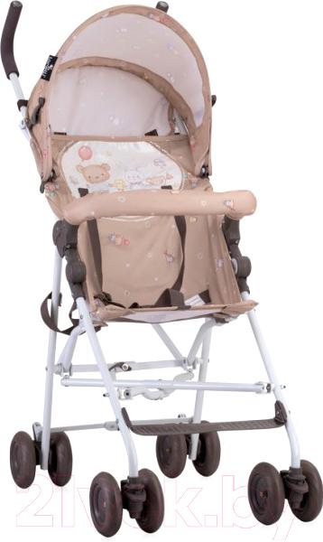 Купить Детская прогулочная коляска Lorelli, Light Beige Bear Party / 10020471954, Китай