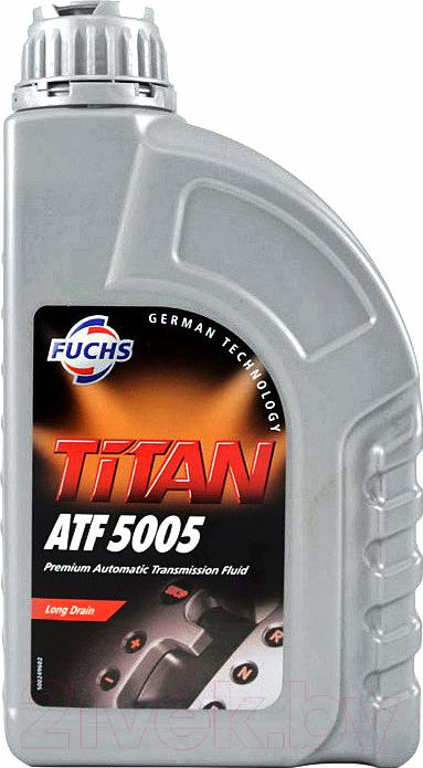 Купить Трансмиссионное масло Fuchs, Titan ATF 5005 Dexron III H / 601427022 (1л, красный), Германия