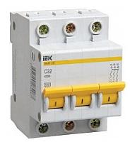 Выключатель автоматический IEK ВА 47-29 16А 3P 4.5кА D / MVA20-3-016-D -