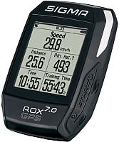 Велокомпьютер Sigma Rox GPS 7.0 / 01004 (черный) -