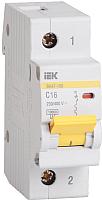 Выключатель автоматический IEK ВА 47-100 3Р 63А 10кА С / MVA40-3-063-C -