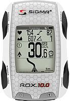 Велокомпьютер Sigma Rox GPS Set 10 / 01001 (белый) -