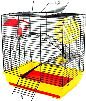 Клетка для грызунов Дарэлл Саша / RP4043 -