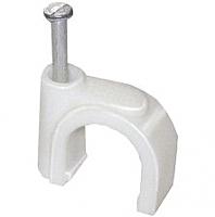 Скоба гвоздевая IEK USK11-04-020 (20шт, круглые) -