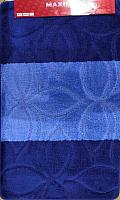 Набор ковриков Maximus Erdek 2582 50x80/40x50 (темно-синий) -