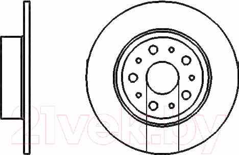 Купить Тормозной диск Bosch, 0986478463, Германия