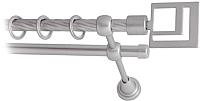 Карниз для штор Lm Decor Квадро 179 2р витой (сатин, 3.2м) -