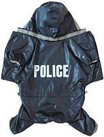 Дождевик для животных Allfordogs Полиция / 00206 (L) -