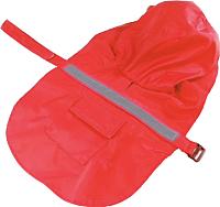 Дождевик для животных Allfordogs 01838 (XL, красный) -